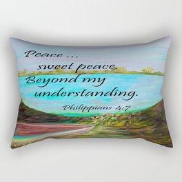 Peace Sweet Peace Rectangular Pillow