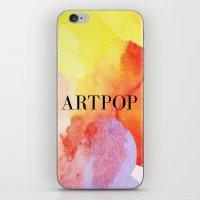 artpop iPhone & iPod Skins featuring ARTPOP  by IngCK