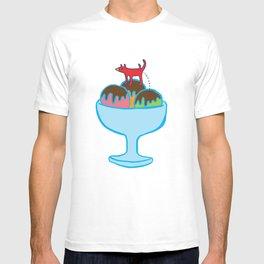 Ice-cream dog T-shirt
