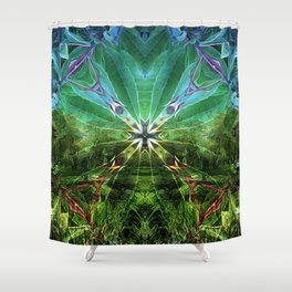 Wheel of Dreams Shower Curtain