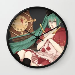 Bad End Night Wall Clock