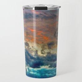 Sunset and Storm Travel Mug