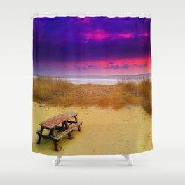 Pluto Picnic Shower Curtain