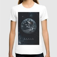 earth T-shirts featuring EARTH  by Alexander Pohl