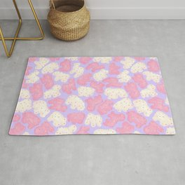 Frosted Animal Cookies on Lilac Rug