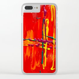 Pulsate Clear iPhone Case