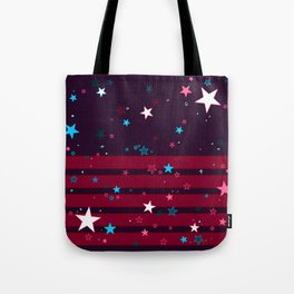 Party Mode Mix - Raspberry Grape Tote Bag