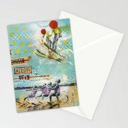 Le bonheur au Mexique Stationery Cards