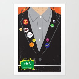 The Young Ones Poster Series :: Rick Art Print