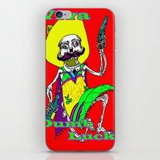Viva Dumb Luck! iPhone & iPod Skin