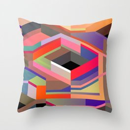 Maskine 10 Throw Pillow