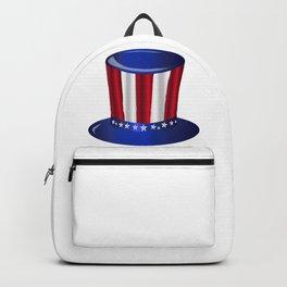 Uncle Sam Flag Hat Backpack
