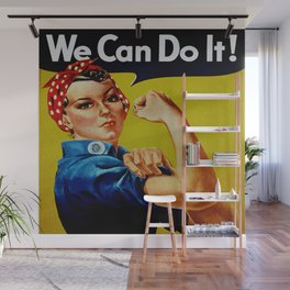 We Can Do It - WWII Poster Wall Mural