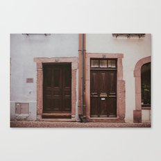 Pastel Pairing Canvas Print