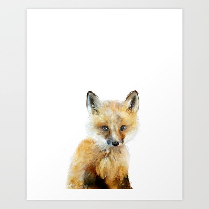 Discover the motif LITTLE FOX by Amy Hamilton as a print at TOPPOSTER