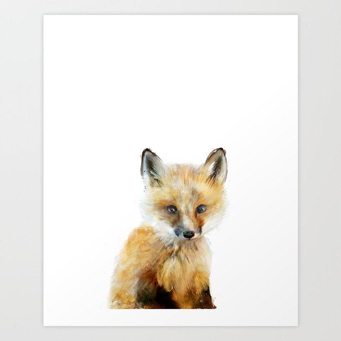 Little Fox Art Print