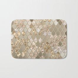 Mermaid Glitter Scales #5 #shiny #decor #art #society6 Bath Mat