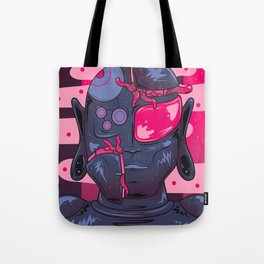 Dystopian Droid Tote Bag
