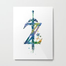 Breath of the Wild Metal Print