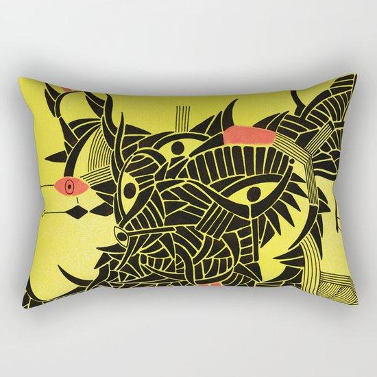 - down - Rectangular Pillow
