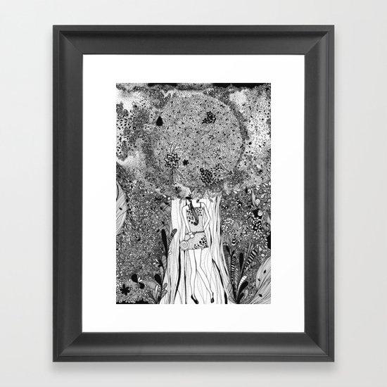 Under The Tree Framed Art Print
