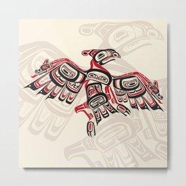 Salish Thunderbird Metal Print