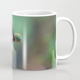 Butterfly Thistle Coffee Mug
