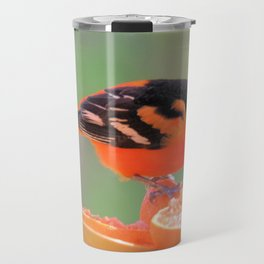 Orange Juice for Breakfast (Baltimore Oriole) Travel Mug