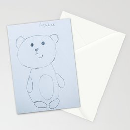 Lulu Colored Pencils Stationery Cards