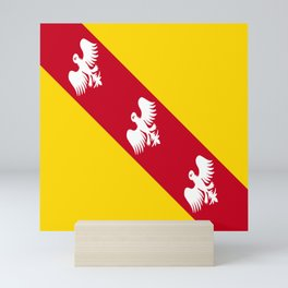 flag of lorraine Mini Art Print