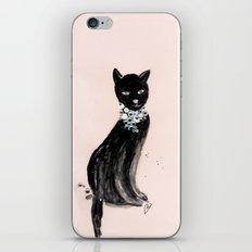 Spoiled Kitty Lifestyle Illustration iPhone & iPod Skin
