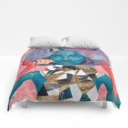 Lunar Aquarium Comforters