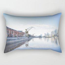 Puerto Madero, Buenos Aires, Argentina. Rectangular Pillow