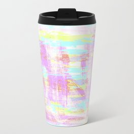 abstract pastell  Travel Mug