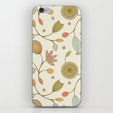 Mehndi Flower iPhone & iPod Skin