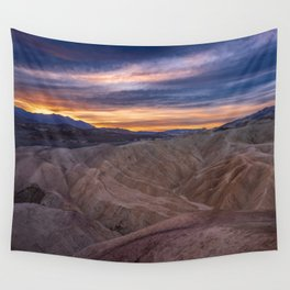 Death_Valley 5520 - Zabriskie_Point Sunrise Wall Tapestry