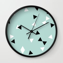 Simple Geometry / Triangles Wall Clock