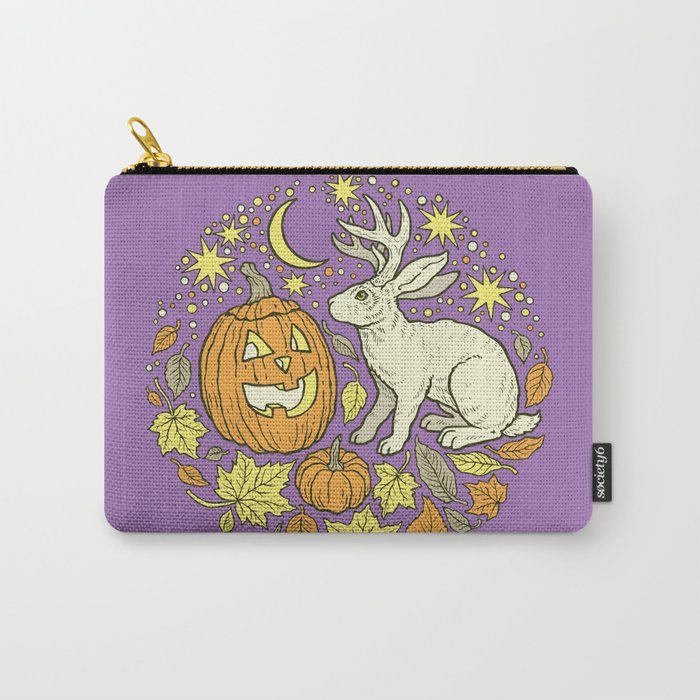 Halloween Friends | Spooky Brights Palette Carry-All Pouch