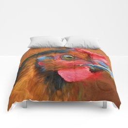 Colorful Chicken Comforters