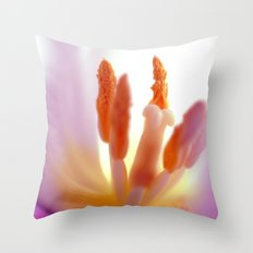 TULIP DAY II Throw Pillow