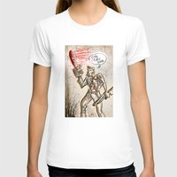 evil dead T-shirts featuring Ash from The Evil Dead by Joe Badon