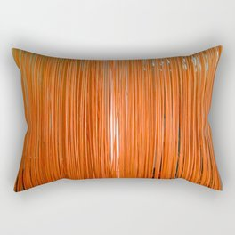 ORANGE STRINGS Rectangular Pillow
