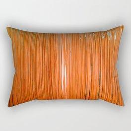 ORANGE STRINGS Rectangular Pillow