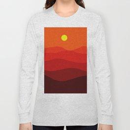 Abstract landscape II Long Sleeve T-shirt