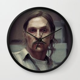 rust cohle Wall Clock