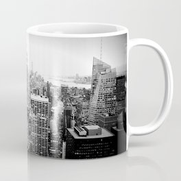 New York City Black & White Coffee Mug