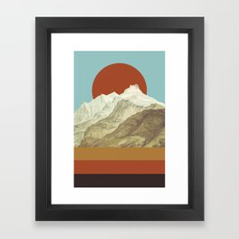 MTN Framed Art Print