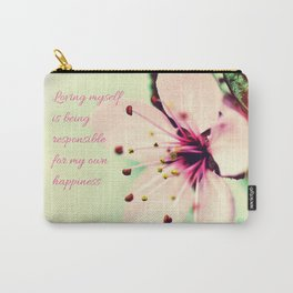 Love Yourself My Happiness Carry-All Pouch