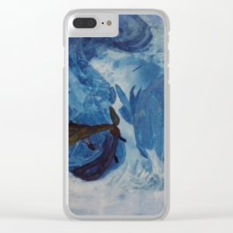 Spielende Fische Clear iPhone Case