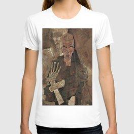 "Egon Schiele ""Self-Seer II (Death and Man)"" T-shirt"
